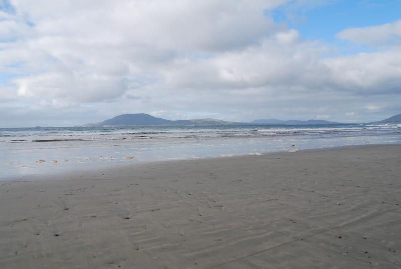 Carrowniskey Strand and Clare Island