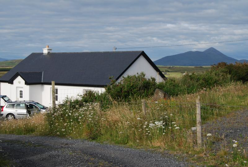 croagh patrick in the background