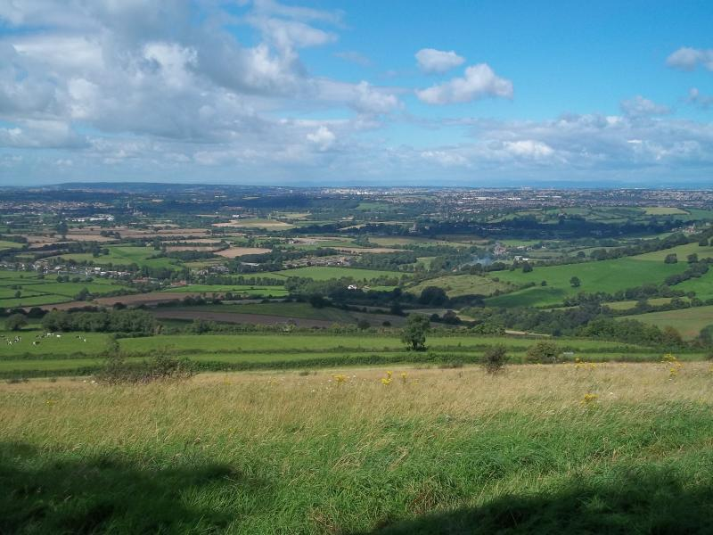 View from Kelston Round Hill