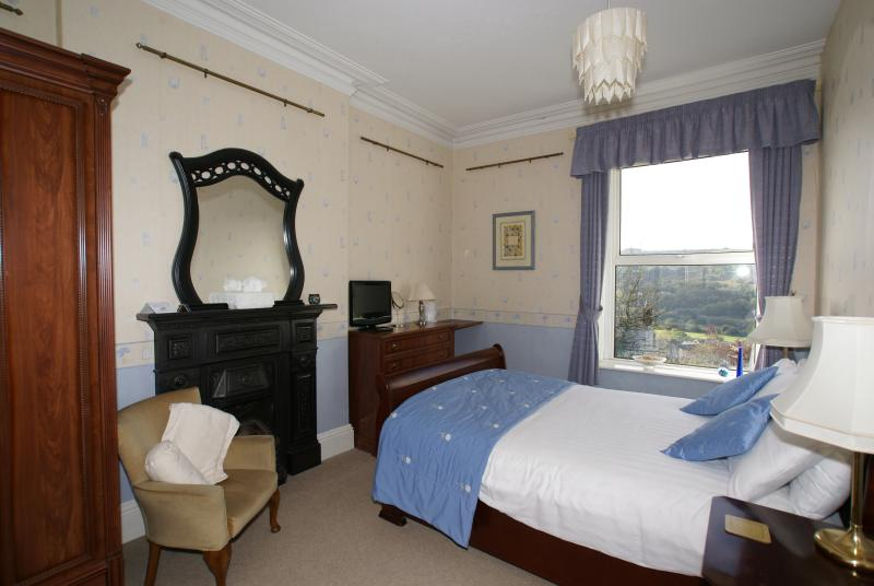 Room 3 Double En-suite. South facing with stunning views over the Derwent Valley.