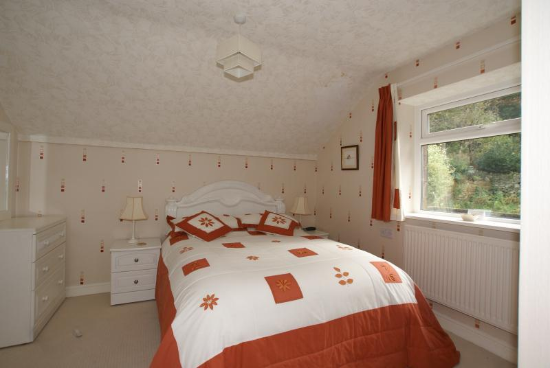 Room 9 Double En-suite. Our only room without a bath, just a walk in shower.