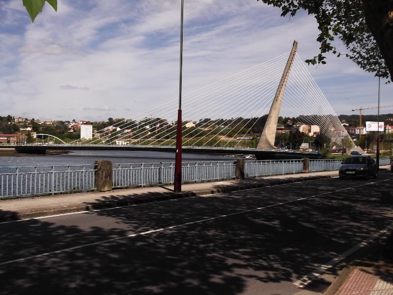 THE HARP BRIDGE AT PONTEVEDRA