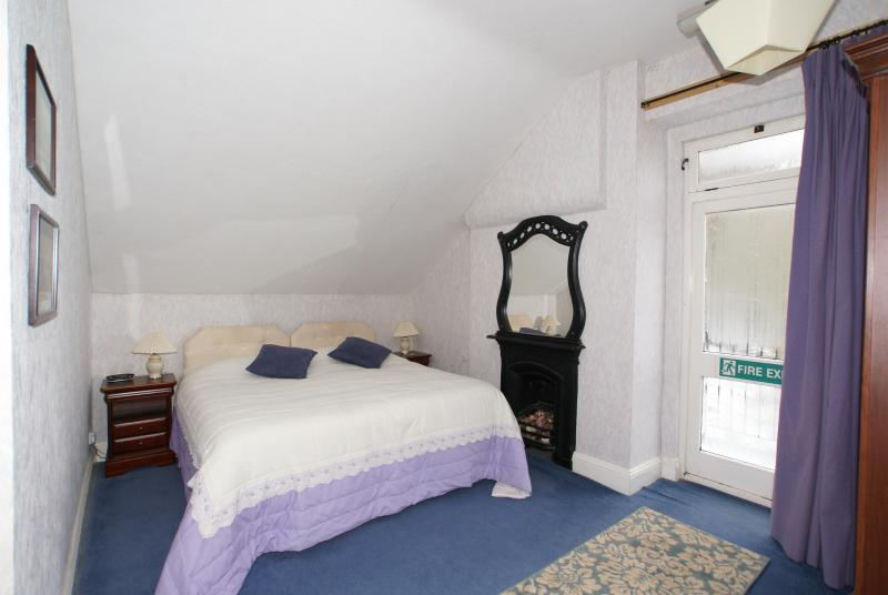 Room 8 East facing as a Super King En-suite. Stunning views over the Derwent Valley