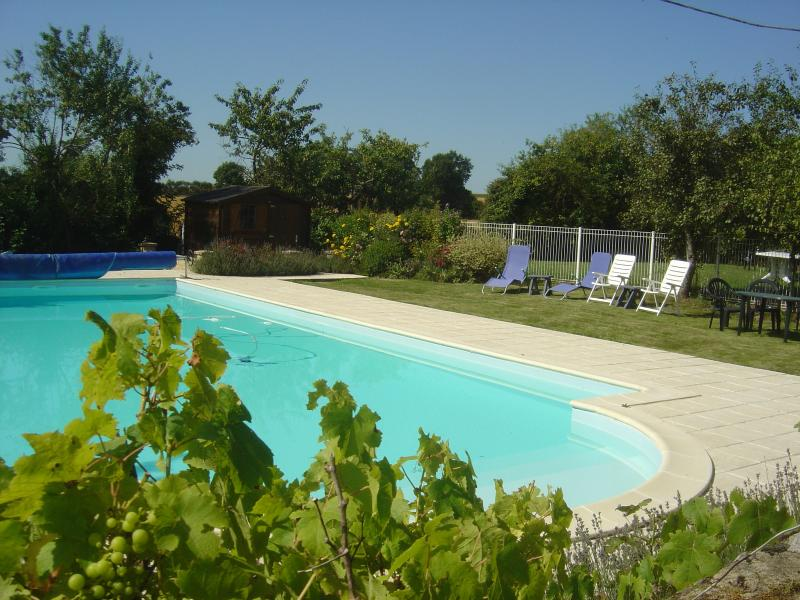 French farmhouse with superb heated pool