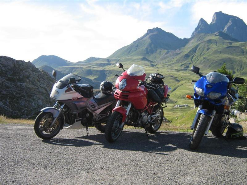 Mptprbiking in the Pyrenees