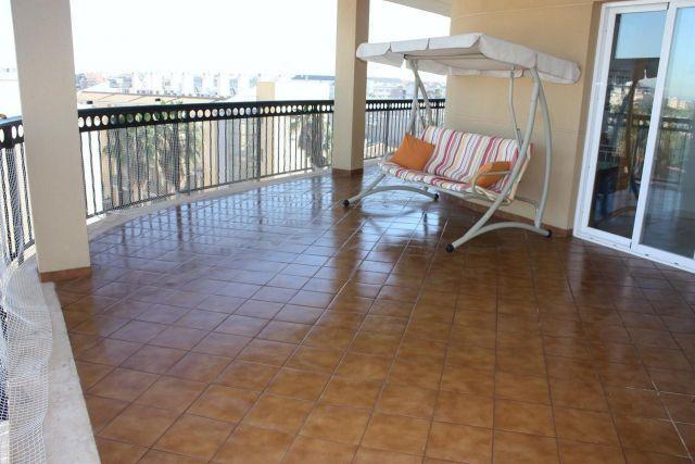 Atico en playa CANET DE BERENG, aluguéis de temporada em Almenara
