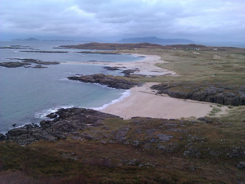 Sanna Beach a great place to walk and explore