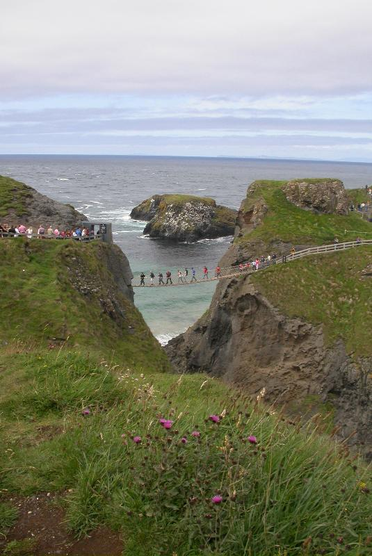 Carrick a Reed Rope Bridge