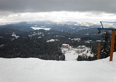 The Wall used in the Europa ski cup event