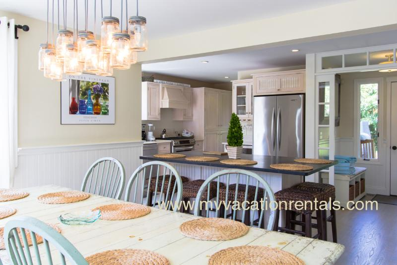 Dining Area, Breakfast Bar and Kitchen