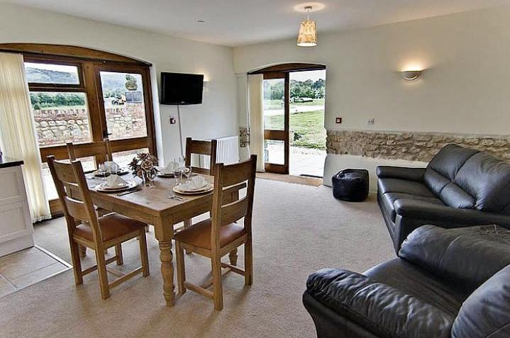 The Byre Open plan Kitchen lounge dinner