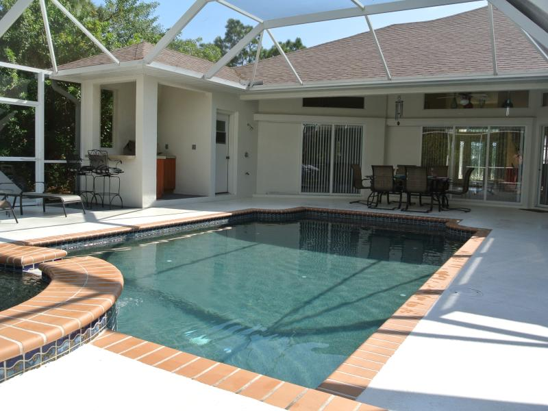 FANCY A DIP IN STARFISH VILLA'S BEAUTIFUL POOL AND HOT TUB!