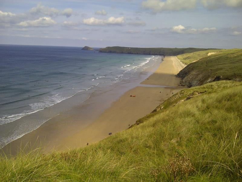 The local protected Cornwall beaches