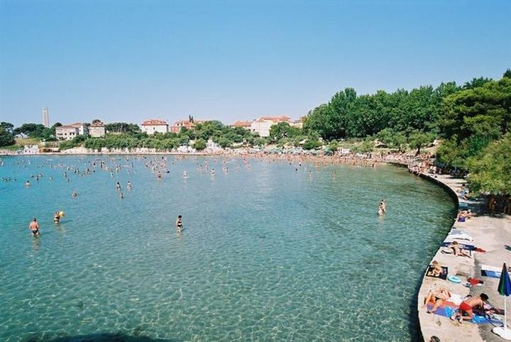 Bacvice beach, Split, 5 min walking distance