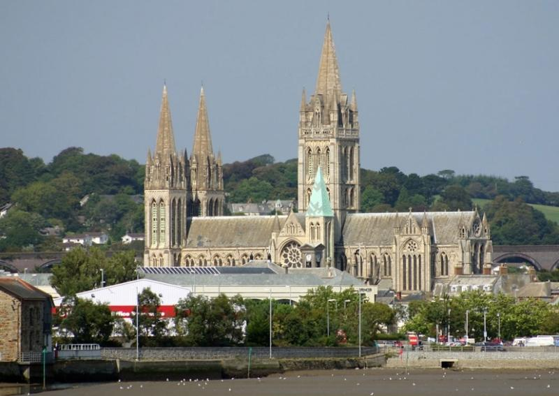 Truro Cathedral, 2 miles from the Cottage