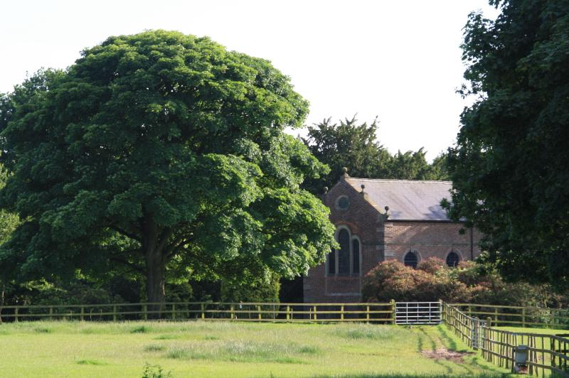 Somerford Chapel dating back to 1730 used to belong to Somerford Hall