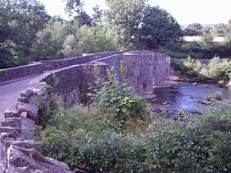 Llangynidr Bridge over River Usk