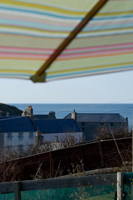 vista de Moray firth de jardim