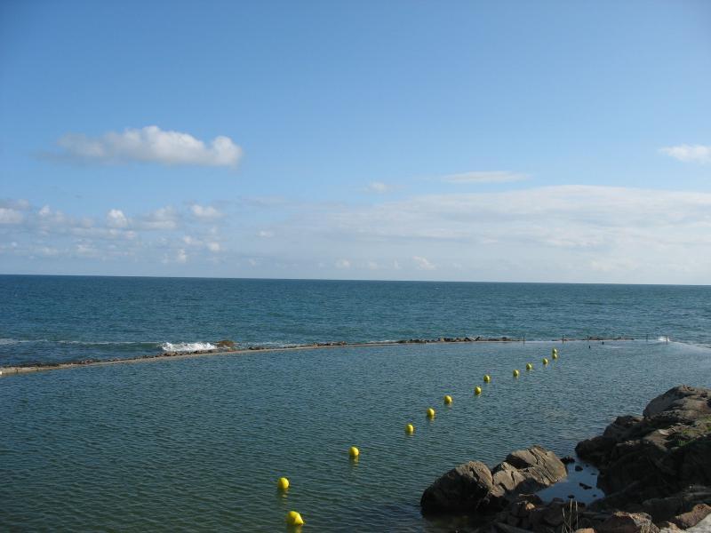 la piscine naturelle d'eau de mer