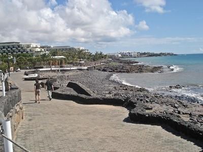 Favoloso lungomare di Playa Blanca
