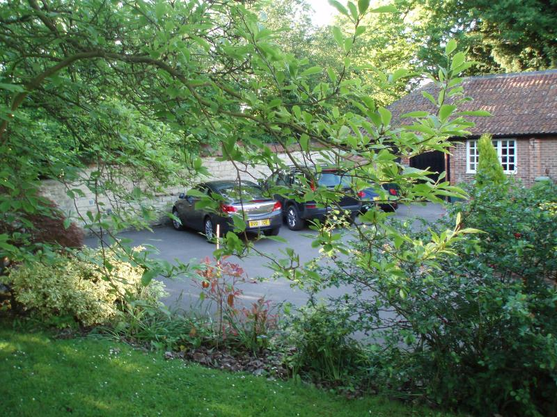 Secure parking within our grounds