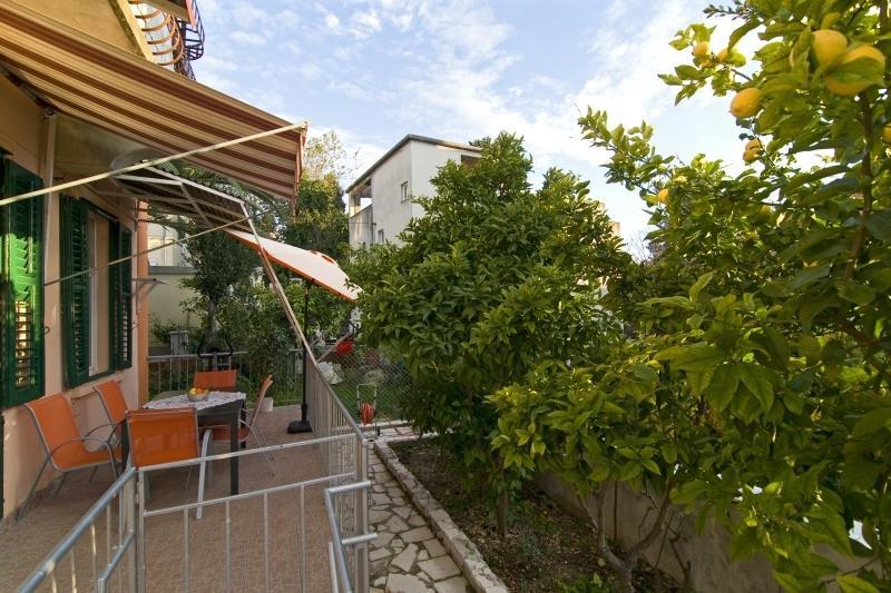 Beautifull terrace and garden