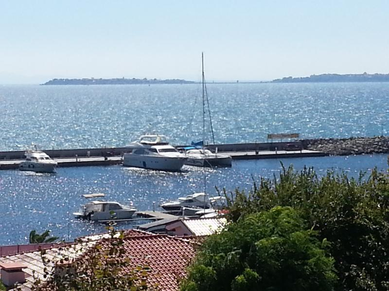 View to Nessebar from the Marina