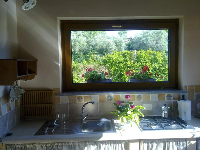 Soggiorno- cucina Casale Giovannino