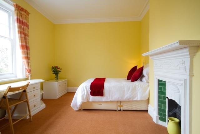 Fourth bedroom is ideal for the children