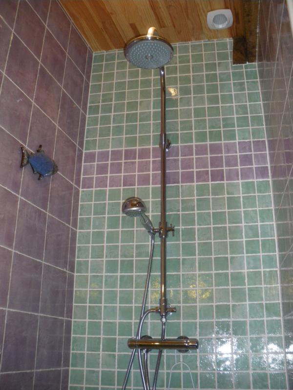 Une bonne douche après une journée bienfaisante en haute montagne !