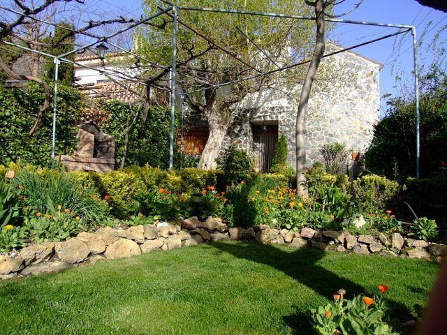 Jardín casa grande