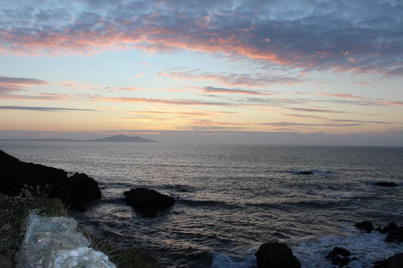 Church Bay at sunset
