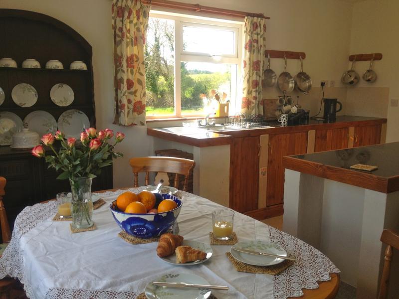 Orario della colazione in Blackberry Cottage