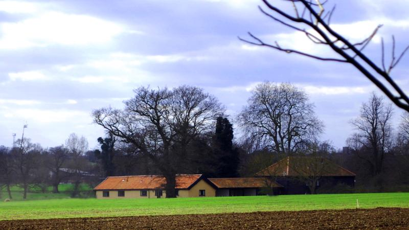 The Barns across the fields