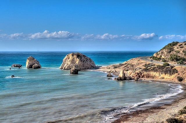 Nearby Aphrodite's Rock