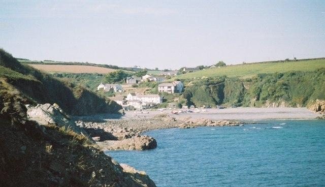 Porthallow from Porthkerris