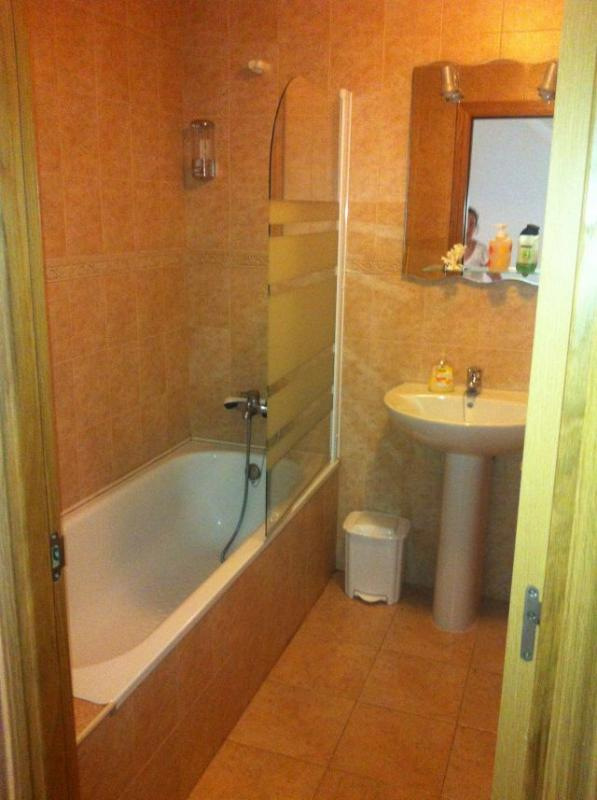 2 with bath, toilet
