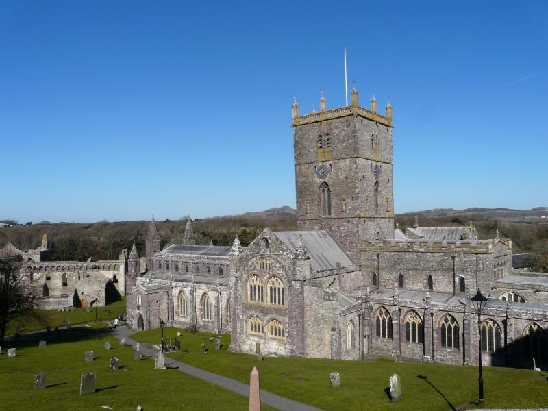St.David's Cathedral -  30 minute drive from cottage