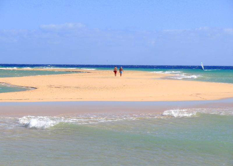 Near the beaches of Sotavento. The best beaches in Europe.