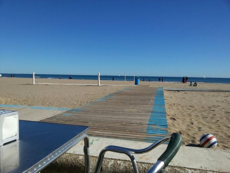 Paseo Marítimo con sus terrazas