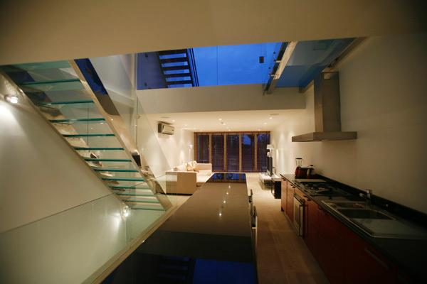 Galleried Lounge/Kitchen/Dining area