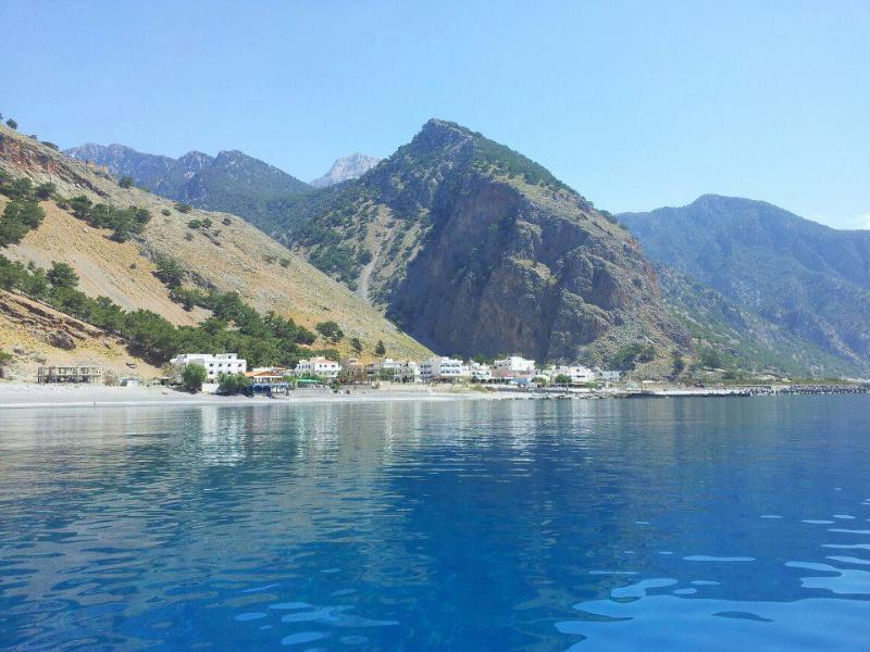 Artemis Studios, Agia Roumeli, Sfakia, Crete, Greece, holiday rental in Sougia