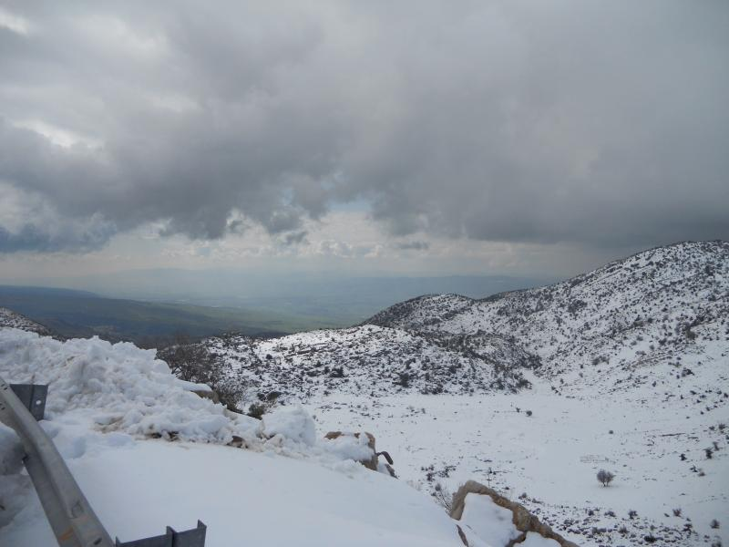 Hermon Mountain in January