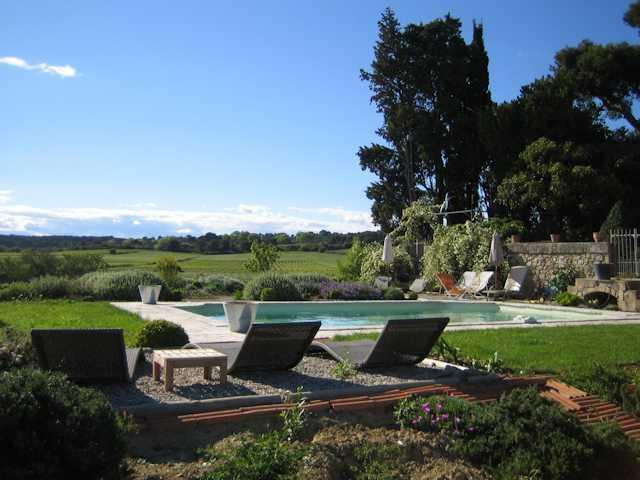 South France holiday rental on a working vineyard