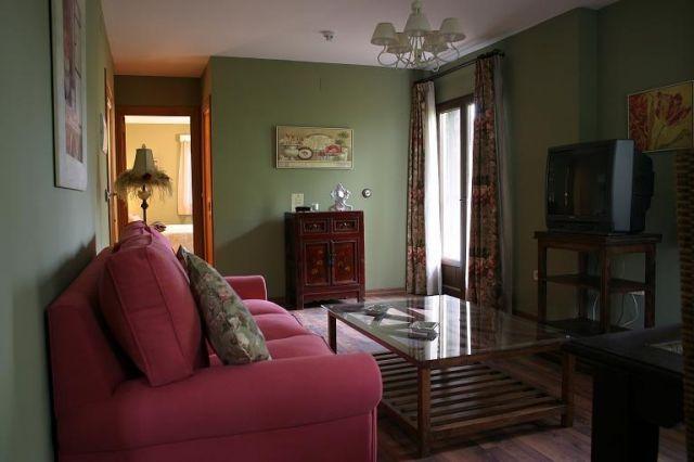 """Vardagsrum med kök Lägenhet """"Las cascades i skärselden"""""""
