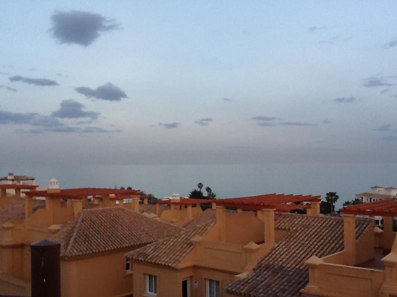 sea view from the solarium
