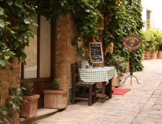 Charmantes Restaurant in der Nähe der Wohnung