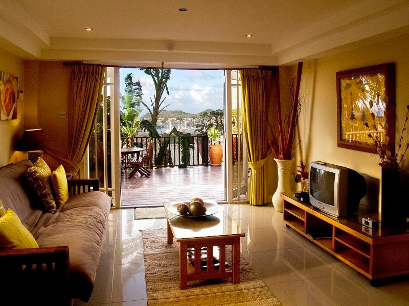 Spectacular views directly from your Suite