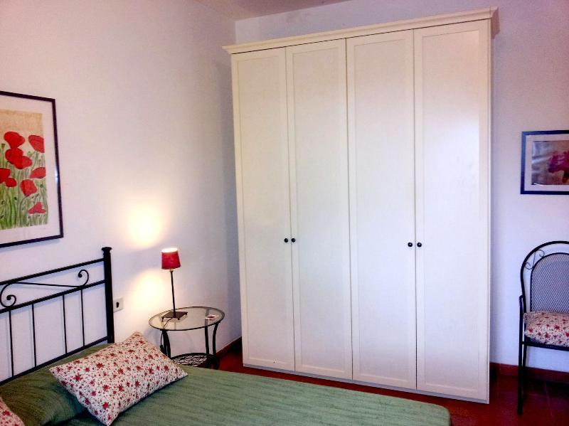The main bedroom, the wardrobe