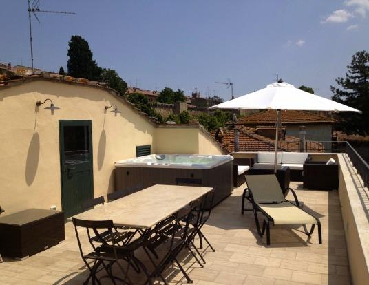 Pure 5 star Luxury in Tuscany-Jacuzzi-AC-wifi-S, holiday rental in Bagno Vignoni